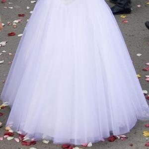 Продам шикарное свадебное платье белого цвета