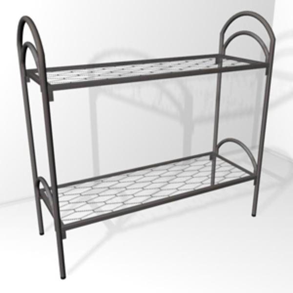 Высокого качества металлические кровати по цене производителя 3